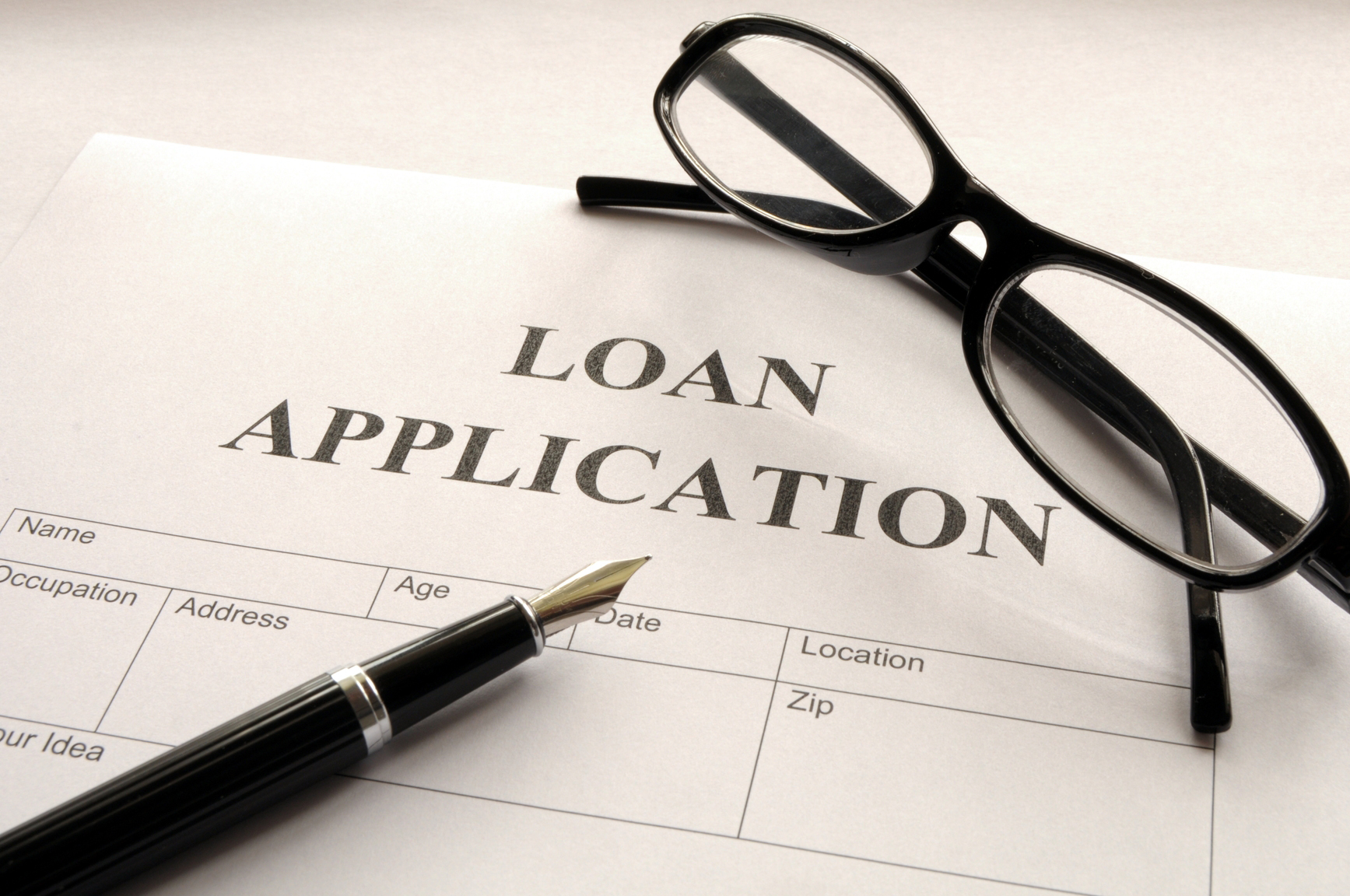 Rejection of your loan application