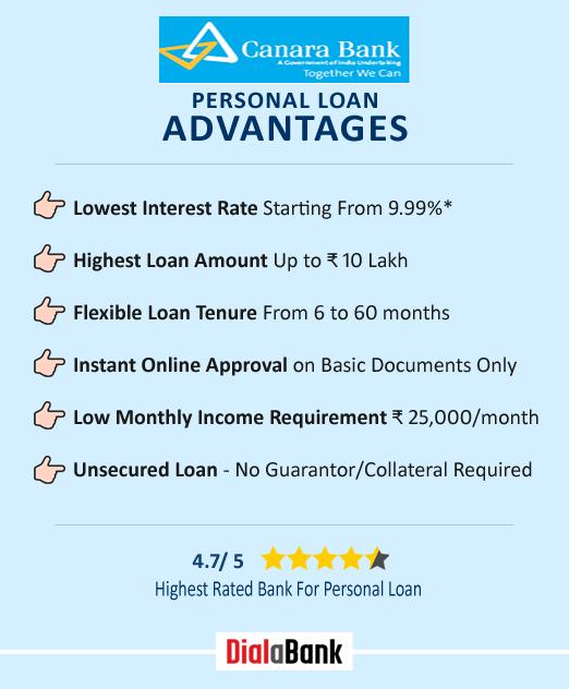 Canara Bank Personal Loan