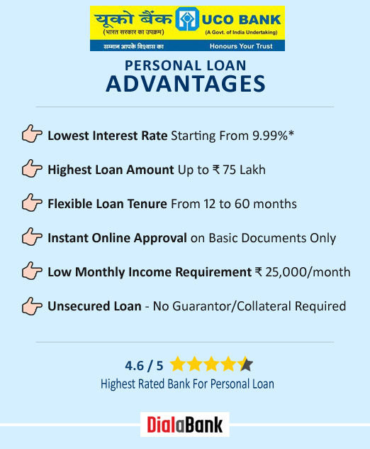 UCO Bank Personal Loan