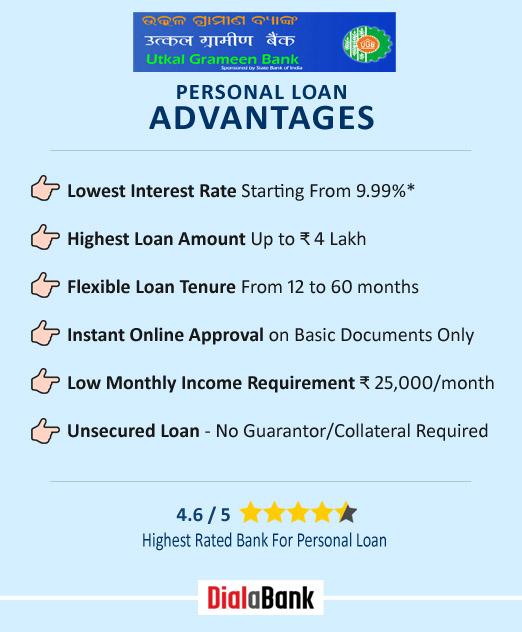 Utkal Grameen Bank Personal Loan