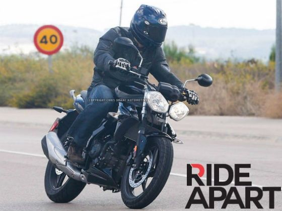 Triumph Developing 250cc Motorcycle for India