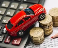 Online car loan.