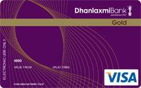Dhanlaxmi Bank Gold Credit Card