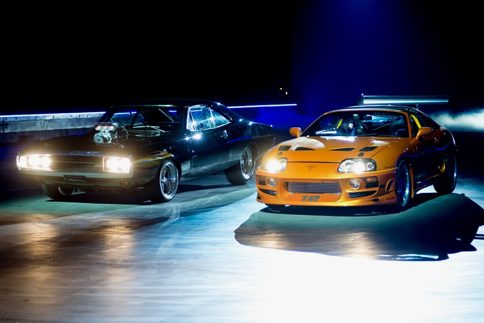 Cars in fast and furious