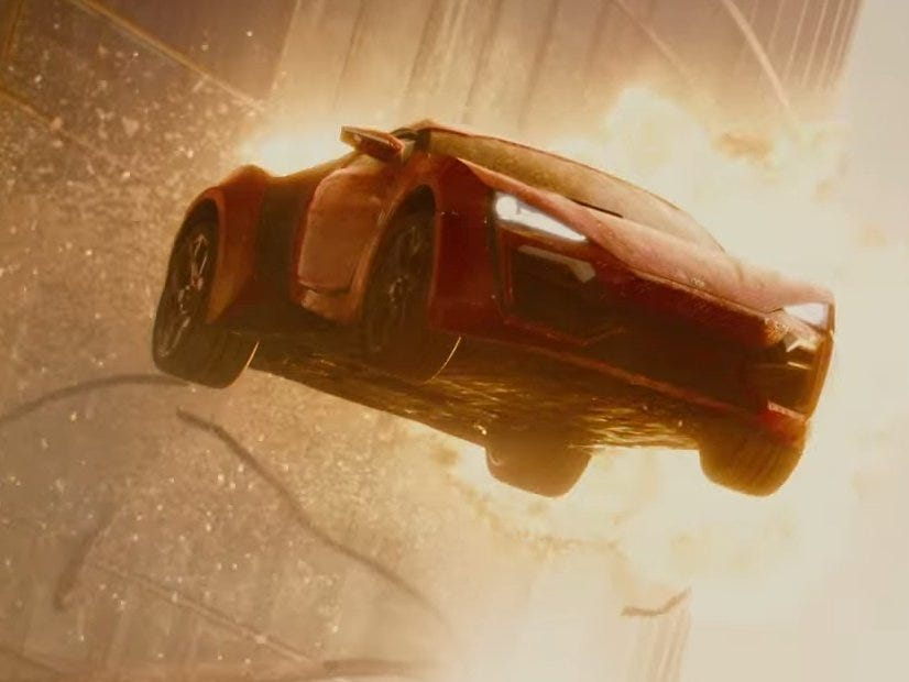 cars in furious 7