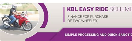 Karnataka Bank Two Wheeler Loan