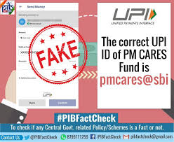 SBI cautions against fake UPI ID for collecting coronavirus funds