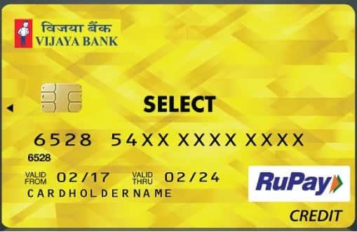 Vijaya Bank Visa Doctors Credit Card