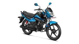 Hero Splendor i-Smart loan blue model