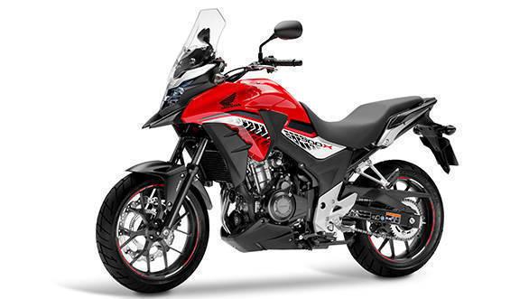 Honda CB500X Loan
