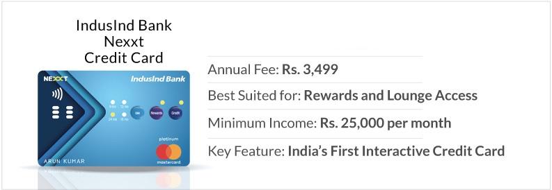 IndusInd Credit Cards