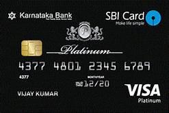 Karnataka Bank Credit Cards