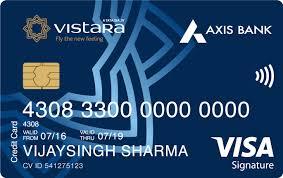 Axis Bank Vistara Signature Credit Card
