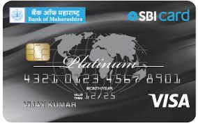 Bank of Maharashtra SBI Platinum Credit Card