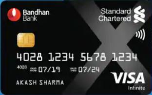 Bandhan Bank Xclusive Credit Card