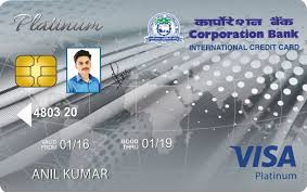 Corporation Bank Credit Card