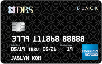 DBS Black American Express® Card