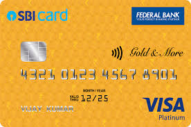 Federal Bank SBI Visa Gold 'N More Credit Card