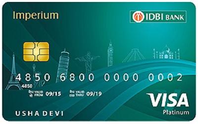 IDBI Bank Imperium Platinum Credit Card