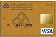 Indian Overseas Gold Credit Card