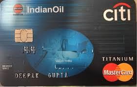 IndianOil Citi Titanium Credit Card