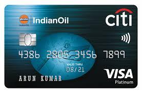 IndianOil Citi Platinum Credit Card