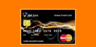 J & k Bank credit card