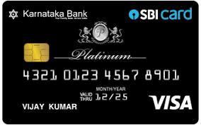 Karnataka Bank SBI Platinum Card