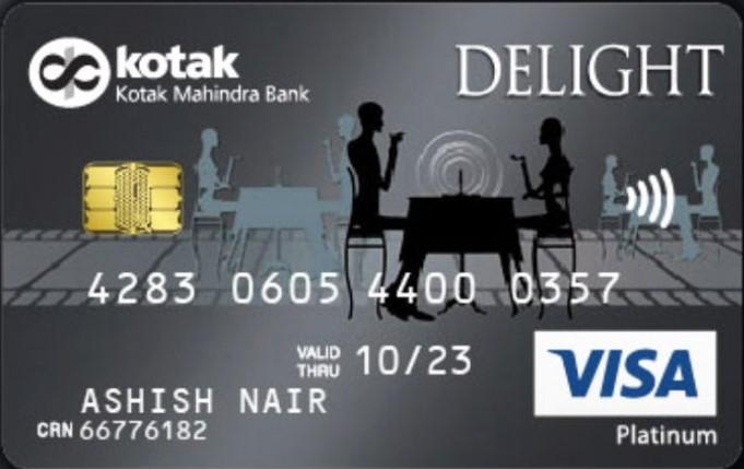 Kotak Mahindra Delight Platinum Credit Card