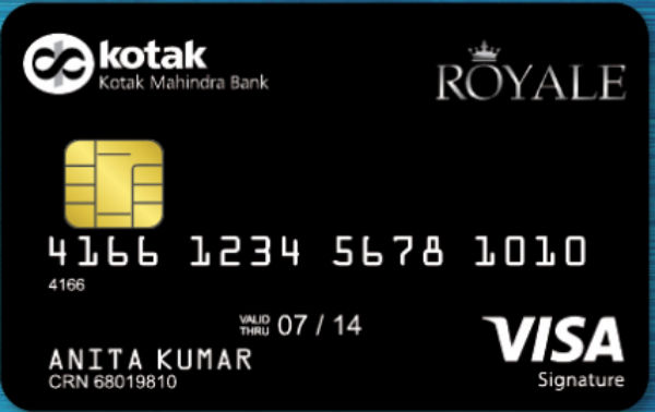 Kotak Mahindra Royale Signature Credit Card