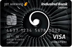 JetAirways Indusind bank odeysses cc