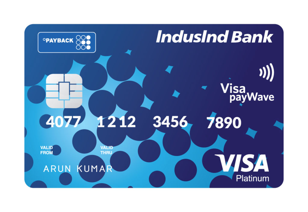 IndusInd Bank Payback Credit Card