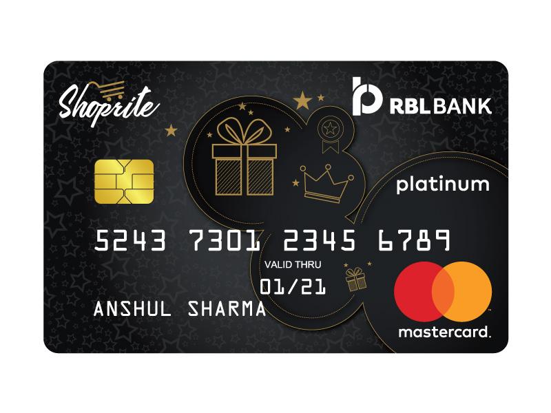 RBL Bank Shoprite Credit Card