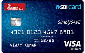 South Indian Bank SimplySave SBI Credit Card