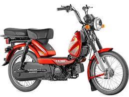 TVS XL100 Loan Red Model
