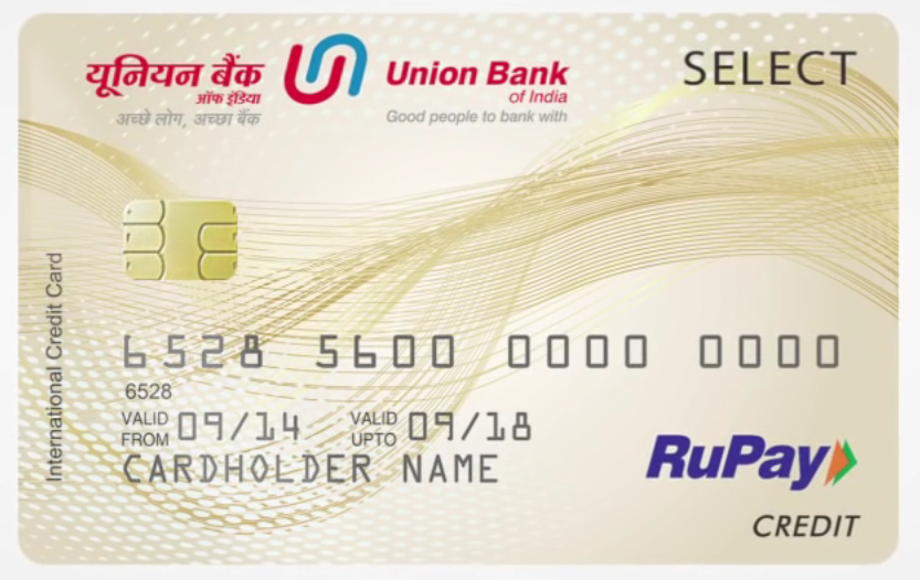Union Bank RuPay Select Credit Card