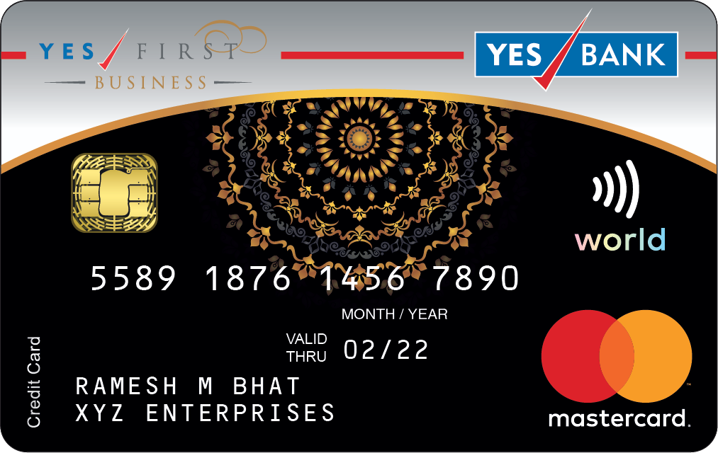 YES FIRST BUSINESS Credit Card