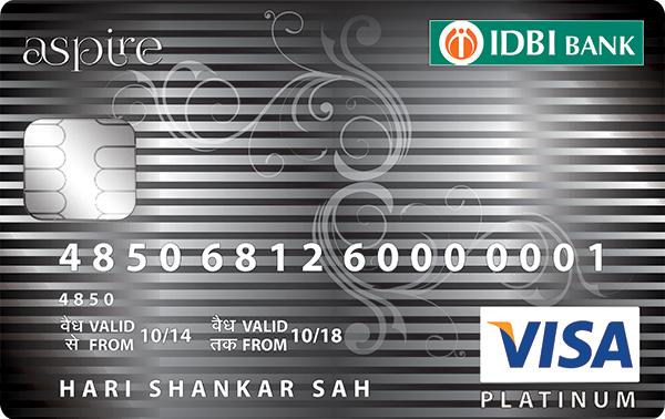 IDBI Bank Aspire Platinum Credit Card