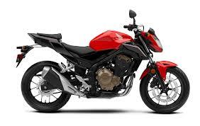 Honda CB500F Loan Colour Model