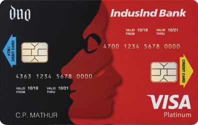 IndusInd Bank Duo Credit Card