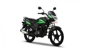TVS Sport Loan Black Green Model