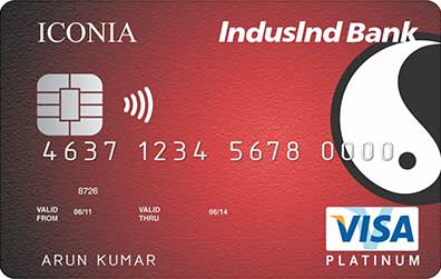 IndusInd Bank Iconia Credit Card