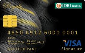 IDBI Bank Royal Signature Credit Card