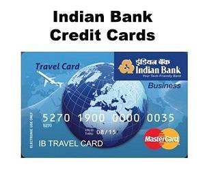 Indian Bank Bharat Credit Card