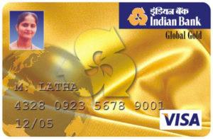 Indian Bank Global Credit Card