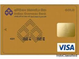 Indian overseas bank Credit Cards