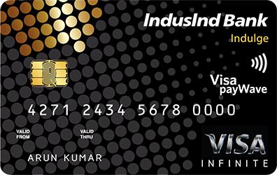 IndusInd Bank Indulge Credit Card