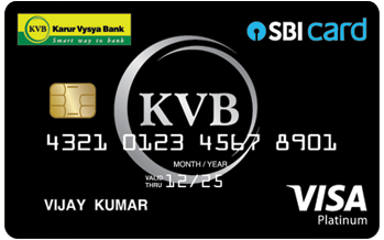 Karur Vysya Bank Credit Cards