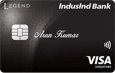 IndusInd Bank Signature Credit Card