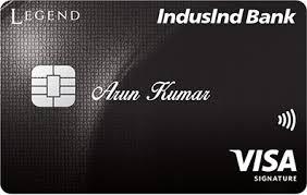 indusind bank legend signature credit card